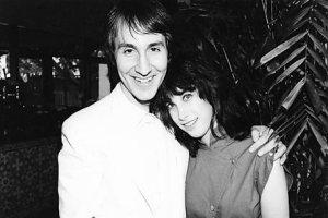 Doug Fieger and Sharona Alperin.