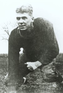 """Years before playing the Gipper in """"Knute Rockne: All American,"""" Ronald Reagan played football for real at Dixon High in Illinois."""
