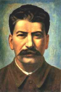 Stalin and his mustache