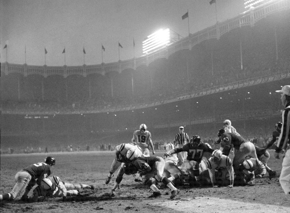 New York Giants vs Baltimore Colts, 1958 NFL Championship