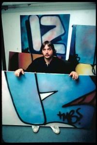 Graffiti artist Iz the Wiz