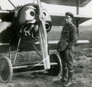 Voss and his triplane