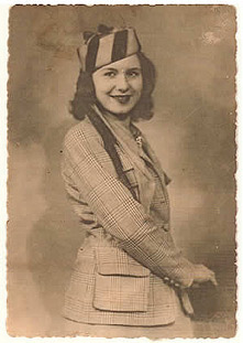 Young Kate Lipner (nee Rossi)