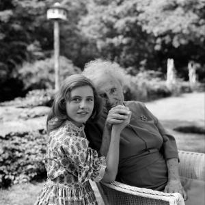 Patty Duke with Helen Keller